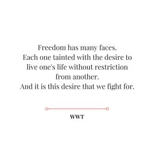 Desire we fight